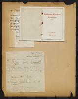 Grace R. Greenbaum Epstein Scrapbook, 1911-1913, page 43, Inclusion 1, page 1
