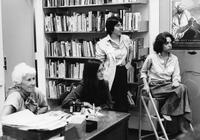 Students in BCRW Office, C1981