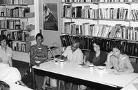 Meeting at the BCRW Office, 1996
