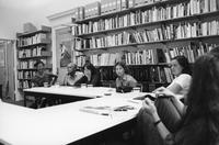 Meeting at BCRW Office, 1996