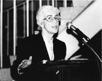 Jane Gould Speech at BCRW 10th Anniversary Party, 1981