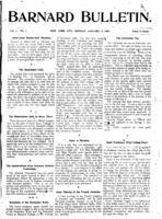 Barnard Bulletin, January 7, 1901, page 1