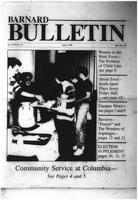 Barnard Bulletin, April 01, 1987, page 1