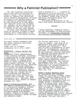 Calendula: A Barnard Feminist Publication, Winter 1979, page 3