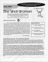 Well-Woman Newsletter, April 2003, page 1