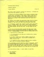 Memo from Catharine Stimpson to Martha Peterson, regarding library exhibits, December 15, 1971, page 1