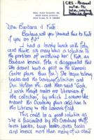 Letter from Elly Elliott to Barbara Hertz and Catharine Stimpson, July 8, 1971
