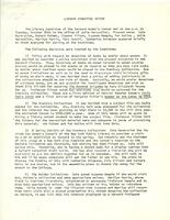 Library Committee Report, October 26, 1971