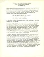 Report of the Second Feasibility Meeting of the Barnard Lawyers' Committee, November 16, 1971, page 1