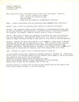 Minutes from the Barnard Lawyers' Committee feasibility meeting, October 6, 1971, page 1