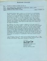 Memo from Mary Wexford Scotti to teachers of courses on women and the law, regarding the Barnard Lawyers' Committee and handbook on the legal status of women, December 21, 1971, page 1