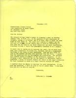 Letter from Catharine Stimpson to Eleanor Norton, December 9, 1971, page 1