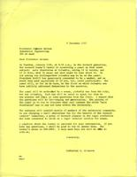 Letter from Catharine Stimpson to Seymour Melman, December 9, 1971