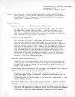 Planning meeting: regional conference notes, 1972