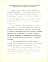 Regulations for Affirmative Action Contract Compliance Programs to End Sex-Based Discrimination, 1971