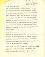 Letter to the Barnard Bulletin, Zena Shapiro, December 14, 1971, page 1