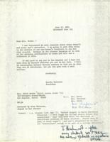 Letter from Martha Peterson to Edith London Boehm, June 17, 1971