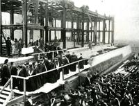 Brooks Hall Construction, circa early 1900s