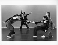 """Teetering High"" student dance performance, 1998"