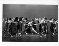 """Blake Study"" dance performance at Miller Theater, 1999"