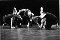 Student dance performance, circa 1990
