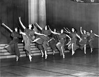 Sophomore dance, Greek Games, 1939