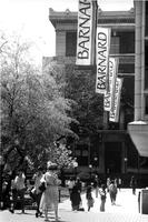 Lehman Walk, facing Barnard Hall, circa 1990s