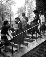 Students walking to class, circa 1960s