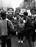 Abortion march circa 1980s-1990s
