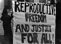Reproductive Freedom Protest, circa 1980s-1990s.