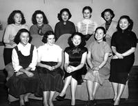Foreign students, 1951