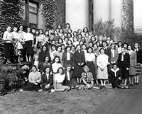 Foreign Students-Group Picture, 1947