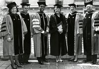 Members of administration with Medal of Distinction recipients, Commencement 1994