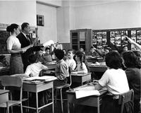 Student teacher at P.S. 75, circa 1960