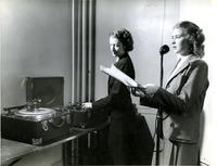 Speech instructor Annis Sandvos, 1944