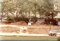 Construction on Barnard Campus, circa 1990s