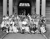 Summer School for Women Workers in Industry group portrait, circa 1928