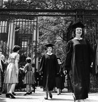 Barnard College Commencement, circa 1950s