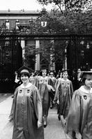 Barnard College Commencement, 1966