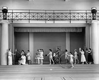 Greek Games Entrance, 1962