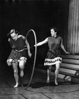 Greek Games Hoop Rolling, 1946
