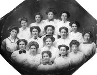 Alpha Omnicron Sorority, circa 1910-1912