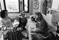 Dorm Room, Sulzberger Hall, circa late 1980s/early 1990s