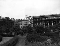Brooks Hall, Hewitt Hall, and Barnard Hall, circa 1950s