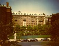 Brooks Hall and Hewitt Hall, circa 1950s