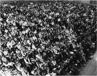 Barnard College Assembly, circa 1950s