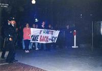 Take Back the Night march, circa 1990s