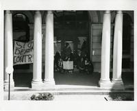 Student anti-war activities, 1972
