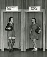 Posture Do's and Don'ts, 1935