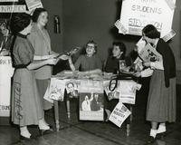 Student Campaigning, 1953